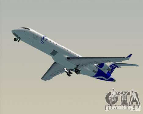 Embraer CRJ-700 China Express Airlines (CEA) для GTA San Andreas вид сверху