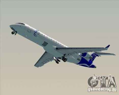 Embraer CRJ-700 China Express Airlines (CEA) для GTA San Andreas вид сверху
