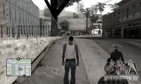Winter Colormod для GTA San Andreas второй скриншот