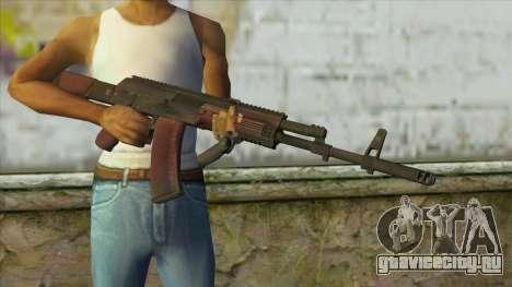 AK47 from Battlefield 4 для GTA San Andreas третий скриншот