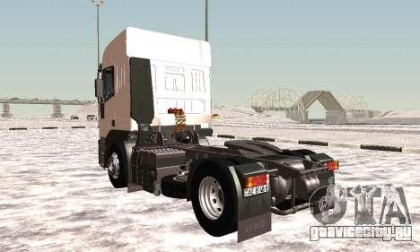 Iveco EuroTech Огнеопасно для GTA San Andreas вид справа
