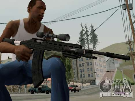 Heavy Sniper Rifle from GTA V для GTA San Andreas второй скриншот