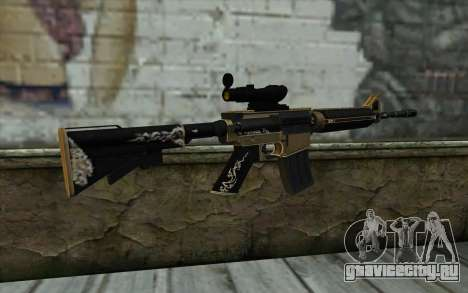 M4A1 from PointBlank для GTA San Andreas второй скриншот