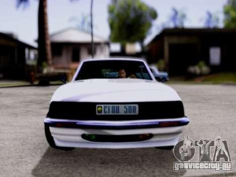 Lampadati Pigalle GTA V для GTA San Andreas вид сзади слева