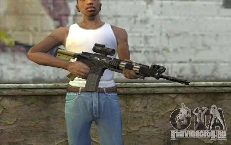 M4 MGS Iron Sight v2 для GTA San Andreas третий скриншот