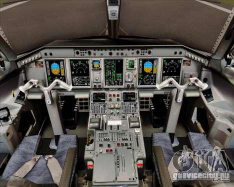 Embraer E-190 Air Canada для GTA San Andreas салон
