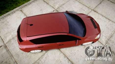 Mazda 3 MPS для GTA 4 вид справа