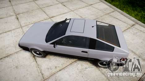 Dinka Blista Compact Sport для GTA 4 вид справа