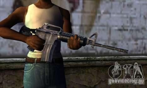 M4 from Far Cry для GTA San Andreas третий скриншот