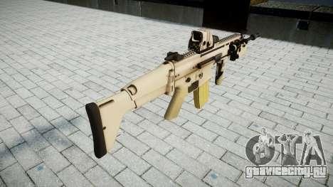 Автомат FN SCAR-L Mk 16 target icon2 для GTA 4 второй скриншот