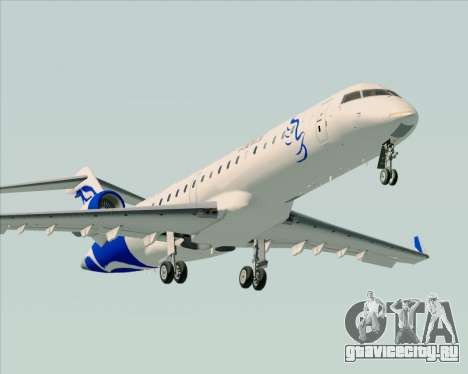 Embraer CRJ-700 China Express Airlines (CEA) для GTA San Andreas двигатель