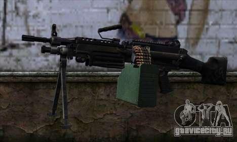 M249 v2 для GTA San Andreas