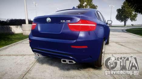 BMW X6M rims1 для GTA 4 вид сзади слева