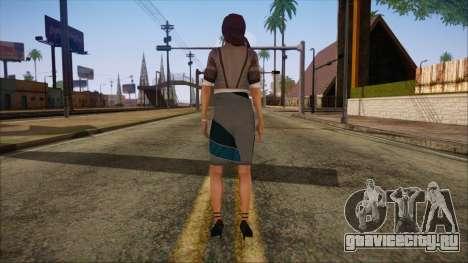 Modern Woman Skin 8 для GTA San Andreas второй скриншот