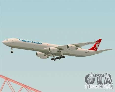 Airbus A340-600 Turkish Cargo для GTA San Andreas вид справа