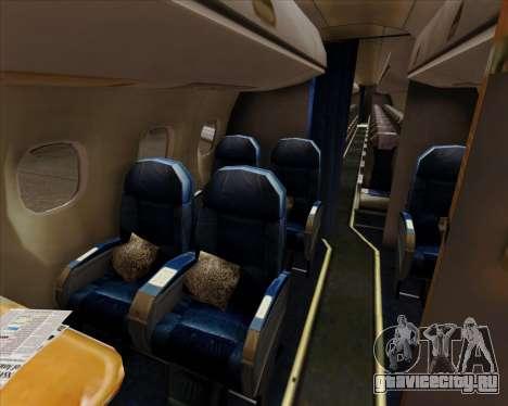 Embraer E-190 Air Canada для GTA San Andreas колёса