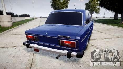 ВАЗ-2106 на пневме для GTA 4 вид сзади слева