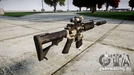 Автомат P416 ACOG silencer PJ1 для GTA 4 второй скриншот