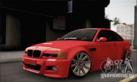 BMW M3 Coupe Tuned для GTA San Andreas