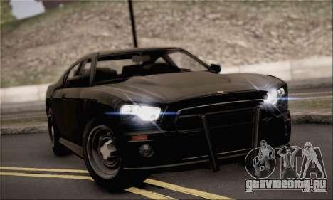Bravado Buffalo S FIB для GTA San Andreas