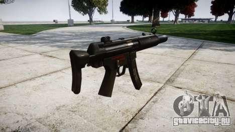 Немецкий пистолет-пулемёт HK MP5SD3 для GTA 4 второй скриншот
