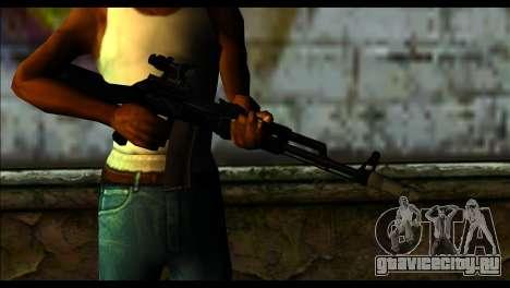 AK-101 ACOG для GTA San Andreas третий скриншот