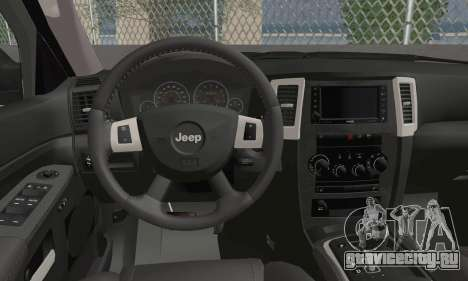 Jeep Grand Cherokee SRT8 для GTA San Andreas
