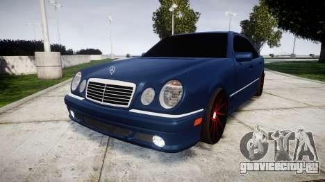 Mercedes-Benz W210 E55 2000 AMG Vossen VVS CVT для GTA 4