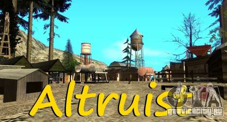 Лагерь Altruist на горе Чилиад для GTA San Andreas