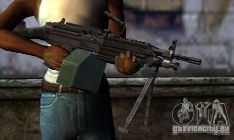 M249 v2 для GTA San Andreas третий скриншот