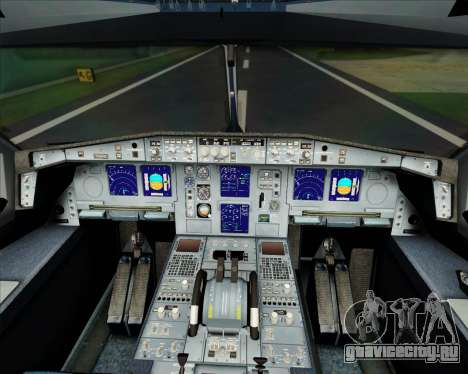 Airbus A340-300 Finnair (Oneworld Livery) для GTA San Andreas салон