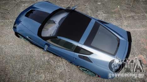 Chevrolet Corvette Z06 2015 TireMi1 для GTA 4 вид справа