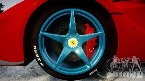 Ferrari LaFerrari 2014 [EPM] для GTA 4 вид сзади
