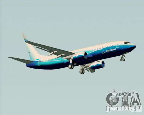 Boeing 737-800 House Colors для GTA San Andreas вид справа