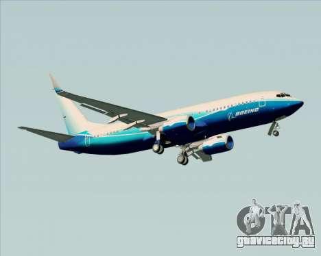 Boeing 737-800 House Colors для GTA San Andreas вид справа
