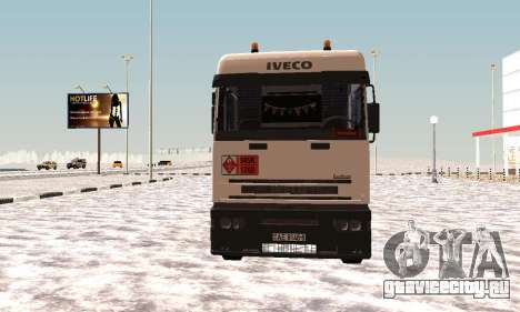Iveco EuroTech Огнеопасно для GTA San Andreas вид слева