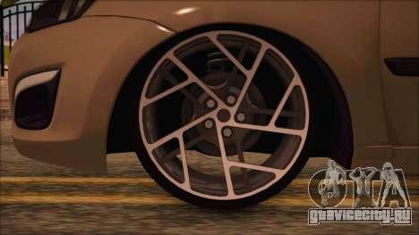 ВАЗ 2190 Лада Калина-Гранта для GTA San Andreas вид сзади слева