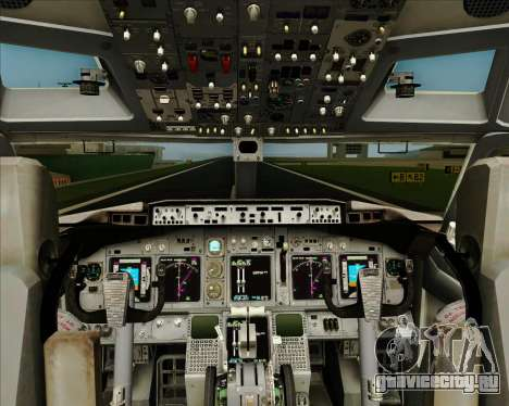 Boeing 737-800 WestJet Airlines для GTA San Andreas салон