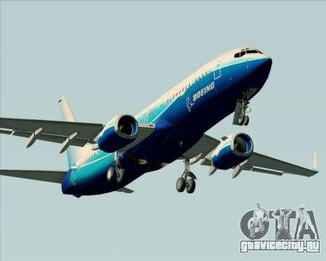 Boeing 737-800 House Colors для GTA San Andreas двигатель