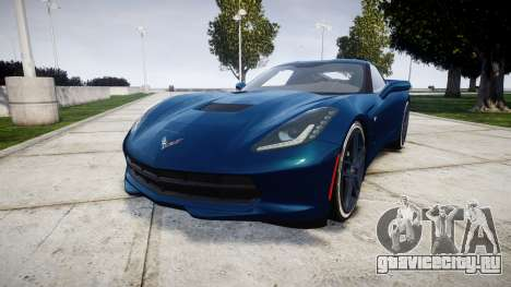 Chevrolet Corvette C7 Stingray 2014 v2.0 TirePi1 для GTA 4