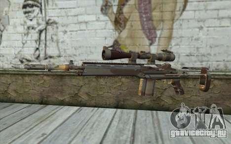 M14 EBR Chipdesert для GTA San Andreas