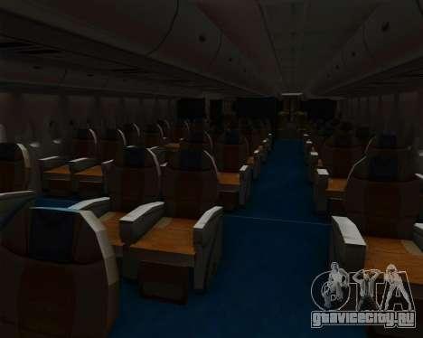 Airbus A380-800 Hainan Airlines для GTA San Andreas двигатель