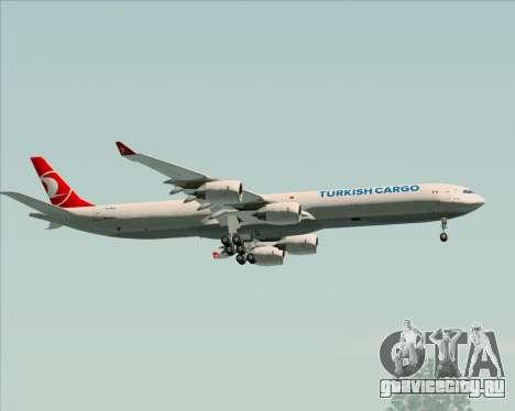 Airbus A340-600 Turkish Cargo для GTA San Andreas вид сбоку