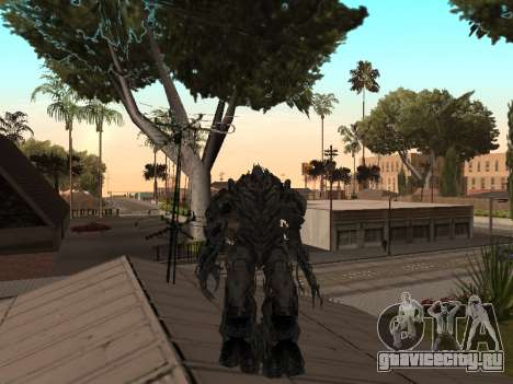 Transformers 3 Dark of the Moon Skin Pack для GTA San Andreas шестой скриншот