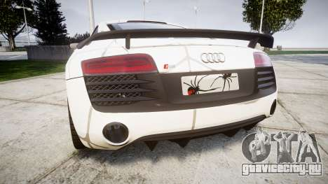 Audi R8 LMX 2015 [EPM] Cobweb для GTA 4 вид сзади слева