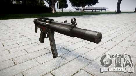 Пистолет-пулемёт MP5SD RO CS для GTA 4