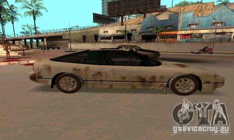 Nissan 240SX Rusted для GTA San Andreas вид слева