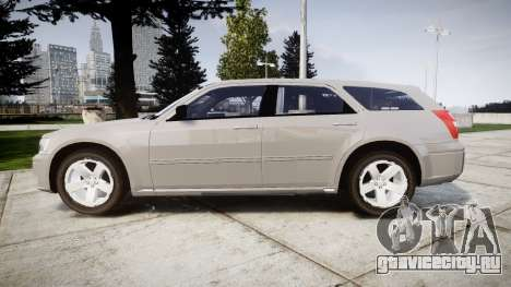 Dodge Magnum 2004 [ELS] Liberty County Sheriff для GTA 4 вид слева