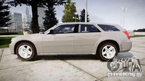 Dodge Magnum 2004 [ELS] Liberty County Sheriff для GTA 4 вид слева