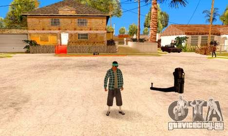 Varios Los Aztecas для GTA San Andreas пятый скриншот